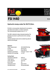 FSI H40 Hydraulic Stump Cutter for 50-75 l/min - Brochure