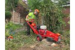 Model FSI B20 - Self-propelled Stump Cutter with gasoline engine