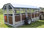 Model E74000 - Hydraulic Cattel Trailer