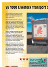 Model VE 1000 - Livestock Transport System Brochure