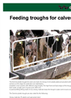 Model 05 H - Feeding Troughs for Calves Brochure