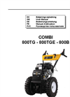Model 800TGE - Combi Drive Unit Brochure