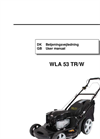 Model WLA 53 TR/W - Lawn Mowers Brochure