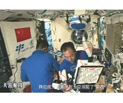 Chinese astronauts use the WET Sensor to help grow lettuce in space