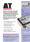 Delta-T - Model DL6 - Soil Moisture Data Logger - Datasheet