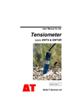 Delta-T - Model SWT4 & SWT4R - Rugged Soil Tensiometer - Manual