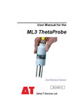 ML3 ThetaProbe - User Manual
