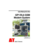 GP1/DL6 GSM - Modem System - User Manual