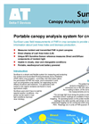 Delta-T SunScan - Model SS1 - Canopy Analysis Systems - Datasheet