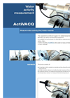 Water Activity Measurement ActiVACQ - Brochure