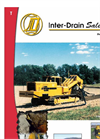 Inter-Drain T-Trencher Catalogue