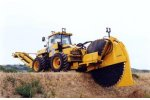 UNAC - Model 300P - Trencher on Tyres