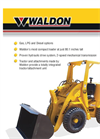 Subcompact Half Yard Loader 4500B- Brochure