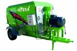 AGRIPUL - Electrical & Tractor Double Auger Feed Mixer