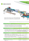 CLA 1500 DB - Cutting/washing Machine - Brochure