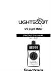 LightScout UV Meter Brochure