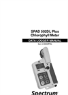 SPAD 502DL Plus Chlorophyll Meter - Manual
