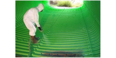 SprayShield - Model Green 2 - Spray-Applied Semi-Rigid Polyurethane