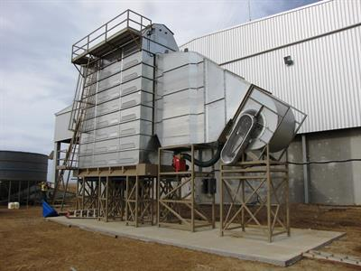 Agridry - Model Goliath Series - Grain Dryer
