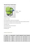 Agrose - Mounted Type Garden Spray - Brochure