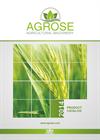 Agrose Catalog
