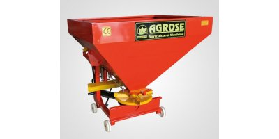 Agrose - Single Disc Mechanical - Hydraulic Fertilizer Spreader Machines