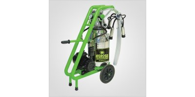 Agrose - Single Bucket Single Milking Fatty System Milking Machine