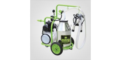 Agrose - Single Bucket Single Milking Dry System Milking Machines