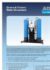 Eco - Model Di-on-x - Automatic Water Deioniser Brochure