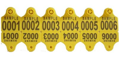 Model KRT-KBP 200 - Ear Tags For Sheep Goat Pig and Dog with Plastic Headed