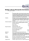 BioSide - HS-15% (Peroxyacetic Acid Solution) Datasheet