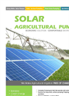 Model SP - Solar Agricultural Irrigation Pumps Datasheet