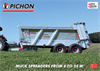 PICHON M12 / M14 Muck Spreaders Brochure
