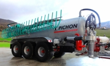 Tri Axles Slurry Tanker