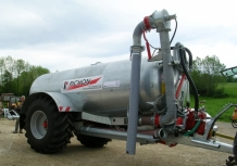Single Axle Slurry Tanker