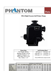 Phantom - Model PH-4 - High Pressure Self Primer Pump - Brochure