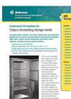 Low-Temp Upright Freezers Brochure
