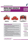 Netafim - Iron and Bronze Valves - Brochure