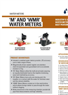 Netafim - Model M and WMR - Water Meters - Brochure