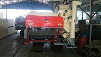 Wishope - Model 4lz-3.0 - Double thresher cylinder rice harvester Iran