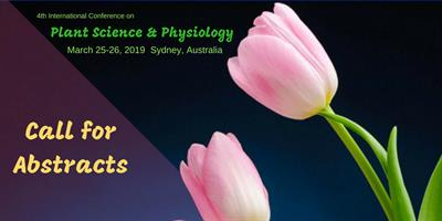 4th International Conference on Plant Science and Physiology-4