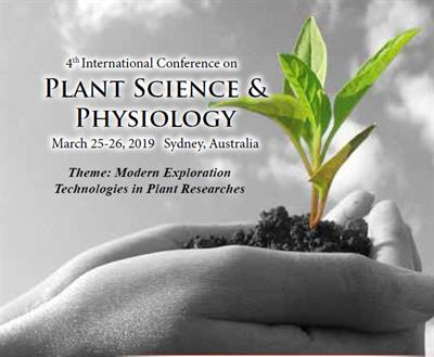 4th International Conference on Plant Science and Physiology