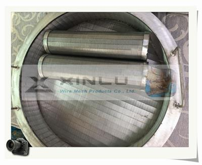 FY-XL - Model 046 - Wedge Wire Screen Cylinder