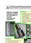 Model EMS 62 - Modular Sap Flow System Brochure