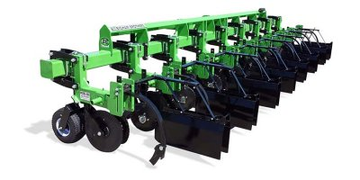 Model 888 - Cultivator/Lister Precision Cultivation and Bedding