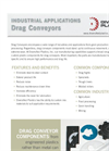 Drag Conveyors Brochure