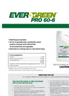 EverGreen - Model Pro 60-6 - Concentrated Pyrethrin Formulation- Brochure
