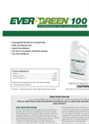 EverGreen - Model 100 - Synergized ULV Concentrate- Brochure