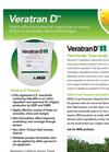 Veratran - Model D - Sabadilla Alkaloids Insecticide- Brochure