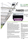 PowerHarvest - High Power LED Fixture  Brochure